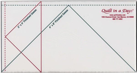 4 in x 8 in Large Flying Geese Ruler