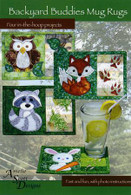 Backyard Buddies Mug Rugs with CD