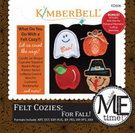 Felt Cozies For Fall Machine Embroidery CD