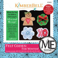 Felt Cozies For Winter Machine Embroidery CD