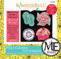 Felt Cozies For Summer Machine Embroidery CD