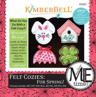 Felt Cozies For Spring Machine Embroidery CD