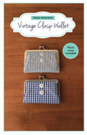 Vintage Clasp Wallet Kit with Pattern
