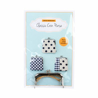 Classic Coin Purse Kit with Pattern