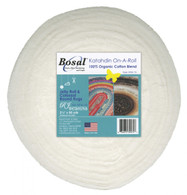 Bosal Katahdin On a Roll 100% Organic Cotton 3oz 2-1/2in x 25yds