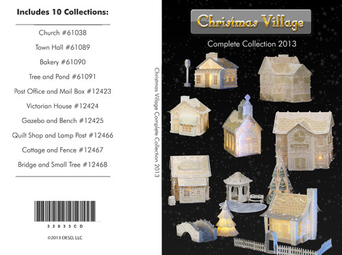 OESD Christmas Village Bundle CD - Premium Sewing Outlet