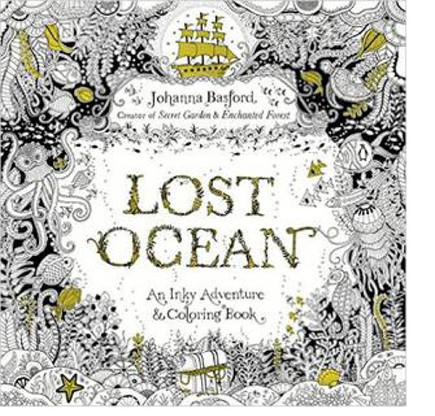 Lost Ocean: An Inky Treasure Hunt And Coloring Book - Premium Sewing Outlet