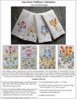 Texas Prairie Wildflowers Embroidery CD