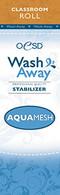 AquaMesh Wash Away Stabilizer Classroom Size  10in x 2 yds