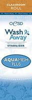 AquaMesh Plus Wash Away Stabilizer Classroom Size 10in x 2 yds