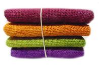 Hand Dyed Burlap Bundle Spring