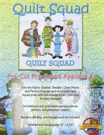 Quilt Squad Quilt Pattern and Laser Cut Fabric Kit