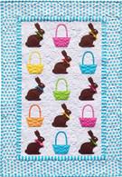 Chocolate Bunnies Quilt Applique Pattern