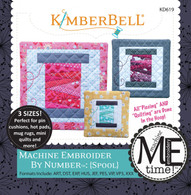 Machine Embroider by Number Spool Machine Embroidery CD