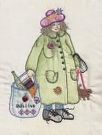 The Bag Ladies of the Fat Quarter Club - Ernestine Bag Lady 1