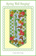Spring Wall Hanging Embroidery Design CD