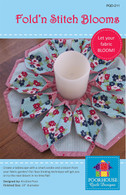 Fold n Stitch Blooms Candle Mat Pattern