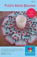 Fold n Stitch Blooms Candle Mat Pattern