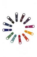 Zipper Pull Set - DARKS - 12 #4.5 pulls