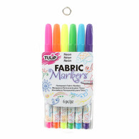 Fine Tip Primary Neon Markers 6/pkg