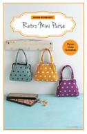 Retro Mini Purse Kit with Pattern