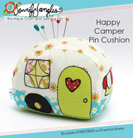 Happy Camper Pin Cushion Kit with Pattern