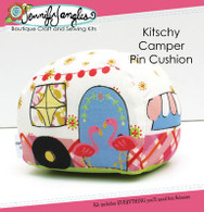 Kitschy Camper Pin Cushion Kit with Pattern