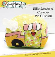 Little Sunshine Camper Pin Cushion Kit with Pattern