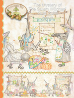Mystery of the Salem Witches' Quilt Guild Panel 3 Pattern