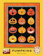 Pumpkins Wallhanging Quilt Applique Pattern