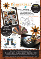Oh the Possibilities for Fall! Companion Machine Embroidery CD