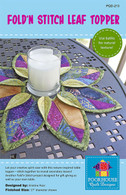 Fold n Stitch Leaf Topper Pattern