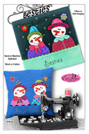 Besties Pillow or Wall Hanging Pattern