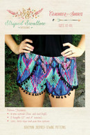 Coachella Shorts Women Pattern