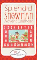 Splendid Snowmen Advent Calendar Pattern