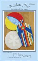 Seashore Fun Potholders and Mug Mats Pattern