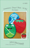 Strawberries Frogs and Birds Oh My! Potholders Pattern