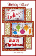 Holiday Pillows Embroidery Design CD