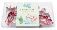 Sewing Kit Themed Cookie Cutters Set of 4