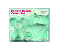Sewing Themed Cookie Cutter Set Set of 3