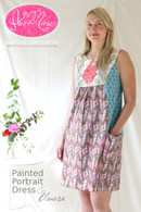 Painted Portrait Dress and Blouse Pattern