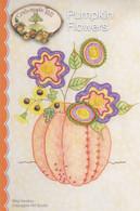Pumpkin Flowers Pattern