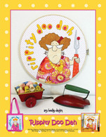 Rippity Doo Dah Wall Hanging Quilt, Pillow and Tote Applique Pattern