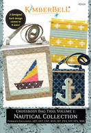 Crossbody Bag Trio Vol 1 Nautical Collection Machine Embroidery CD