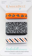 Kimberbellishments Halloween Ribbon Set