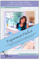 Edge to Edge Quilting Expansion Pack 6 with CD