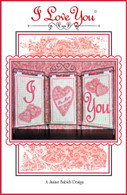 I Love You Embroidery Design CD