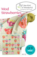 Mod Strawberries Pattern