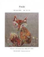 Freida Fox Collage Fused Applique Pattern