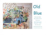 Old Blue Vintage Truck Collage Fused Applique Pattern